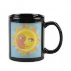 Керамическая, меняющая цвет чашка с изображением Солнца и Луны