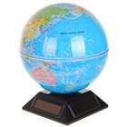Вращающийся глобус на солнечной батарее