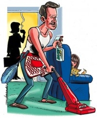 Если мужчина - глава семьи