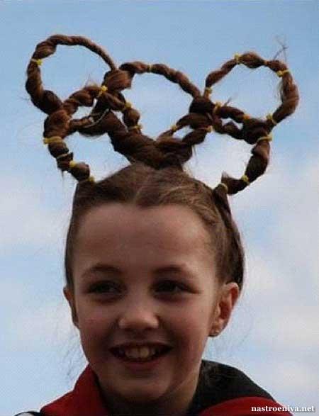 Олимпийская причёска