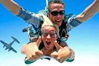 Прыжок с парашютом - адреналин обеспечен