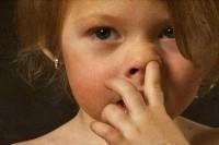 Ковырять в носу - плохая приобретённая привычка