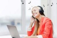 Музыка в интернет может поднять настроение